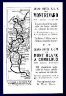 74 CHAMONIX MONT-BLANC Et MONT REVARD Grand Hôtel - Les Taches Jaunes Sont Accentuées Par Le Scanner - Hotel Labels