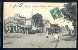 Cpa Du 92  Rueil -- L' Avenue De Paris à Rueil Ville LIOB10 - Rueil Malmaison