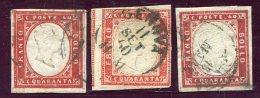1859-SARDEGNA- LOT 40 C. USED-Very Fine ! - Sardegna