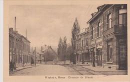 Cpa Wépion S. Meuse . Chaussée De Dinant. Edit. J.Crémers - Namur