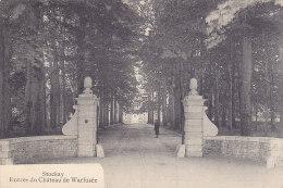 Stockay - Entrée Du Château De Warfusée (animée, Edit. Lemye Havelange)