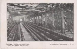 Cpa 1913 Vue Animée: Fabrique D'écrémeuses Centrifuges Jules Mélotte à Rémicourt. La Production D'1 Semaine. N°10 - Remicourt