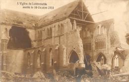 Lichtervelde : Kerk Vernield Op 16 Okt. 1918  ---  Fotokaart - Lichtervelde