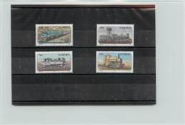 NAMIBIA 1995 - TRENI - TRAIN -LOCOMOTIVES - 4 VALORI - Namibia (1990- ...)