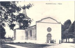 PRADINES  L'église  Neuve Excellent état - Other Municipalities