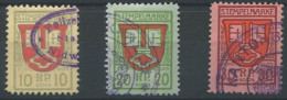 1166 - NIDWALDEN Fiskalmarken - Fiscaux