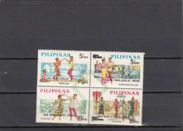 Filipinas Nº 755 Al 758 - Filipinas