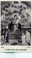 IMAGE RELIGIEUSE CHINE L TCHENG NOTRE DAME DES MARTYRS PRIERE POUR LES MISSIONS - Devotieprenten