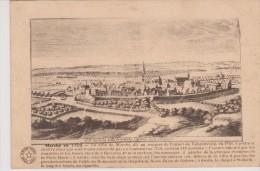 Cpa Marche En 1750 Capitale De La Famenne. (Coll. Fortemps, Marche) - Marche-en-Famenne