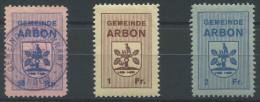 1175 - ARBON Fiskalmarken - Fiscaux