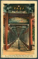 China Peking, The Long Corridor, Wan Cheou Chan, Summer Palace Postcard - China