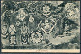 British Military Army Crests At Cherat Postcard - Malaysia