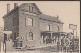 CPA:Trith-Saint-Léger:Gare De Le Poirier - Autres Communes