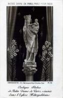 IMAGE RELIGIEUSE DESGODETS NOTRE DAME DE PARIS PRIEZ POUR NOUS - Devotion Images