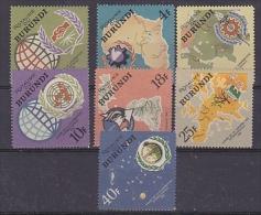 Burundi 1965 International Cooperation 7v ** Mnh (27689) - 1962-69: Ongebruikt