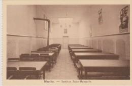 Cpa Marche. Institut St Remacle. Réfectoire Des Externes. (Edition Belge) - Marche-en-Famenne
