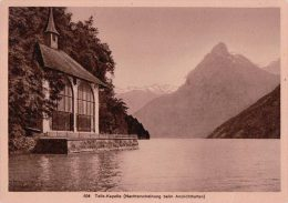 Tells-Kapelle Suisse, Effet De Nuit (504) - Contre La Lumière