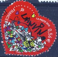 4431    Coeur De LANVIN    OBLITERE ANNEE 2010 - France