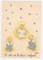 Barré-Dayez           Scènes Pieuses Enfantines Par Leïla        1493 C - Künstlerkarten