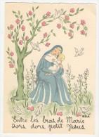 Barré-Dayez           Scènes Pieuses Enfantines Par Leïla        1493 K - Künstlerkarten