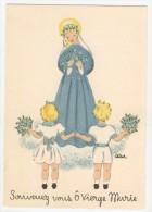 Barré-Dayez           Scènes Pieuses Enfantines Par Leïla        1493 E - Künstlerkarten