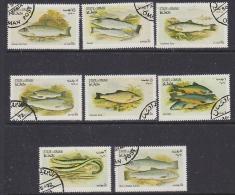 Oman 1972 Fishes 8v Used (SB107P) - Oman