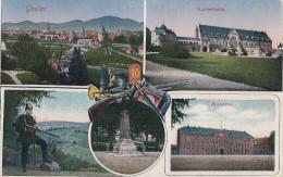 AK Goslar Kaiserhaus, Kaserne Color Nicht Gelaufen - Goslar