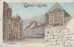 AK Gruss Aus Wien Ronacher, Carl-Theater Gelaufen 12.6.03 - Wien