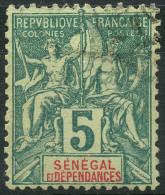 Sénégal (1887) N 11 (o) - Senegal (1887-1944)