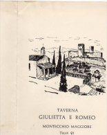 NOZZE - Gianni E Marina - Montecchio Maggiore 1960 - - Annunci Di Nozze