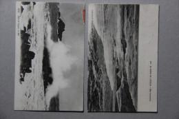 PIRIAC SUR MER (LOIRE ATLANTIQUE), Lot De 2 CPA (océan, Vagues) - Piriac Sur Mer