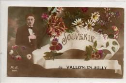03 - VALLON EN SULLY - Souvenir - France