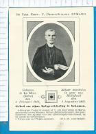 Holycard  Relic  Relicuia  Relikwie    St.  Petrus - Julianus  Eymard - Images Religieuses