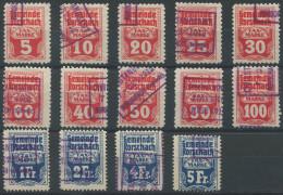 1186 - RORSCHACH Fiskalmarken - Fiscaux