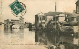 Dép 44 - Nantes - Les Berges De La Loire Près Du Pont De Pirmil - état - Nantes