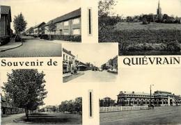 SOUVENIR DE QUIEVRAIN - Carte Multi-vues. - Quiévrain