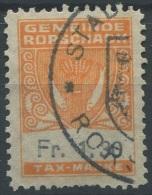 1188 - RORSCHACH Fiskalmarke - Fiscaux