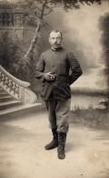 1917 - Carte Postale De Georges LEFEVRE Militaire Qui Habitait à Quimper. Photographe: Mr Georges à Quimper - Personaggi