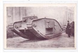 MILITÄR - PANZER / Tank / Chars, Englischer Tank 1.Weltkrieg - Ausrüstung