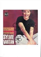 Dedicace Sylvie Vartan    Autographe Rca - Autographes