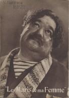 """Cinéma/Film/ Scénario Illustré/""""Les Maris De Ma Femme""""/Maurice Cammage//PAULEY/Roger TREVILLE//1937  CIN59 - Cinéma/Télévision"""