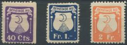 1190 - AU Fiskalmarken - Fiscaux