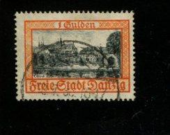 DANZIG GEBRUIKT USED GEBRAUCHT OBLITERE YVERT 192 - Dantzig