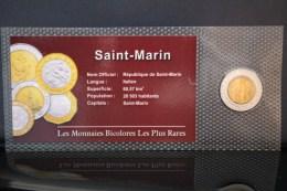 500 LIRES SAINT MARIN NEUF - Monnaies