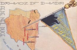 España  - GUERRA CIVIL - TARJETA POSTAL - 751 BATTAGLIONE DASSALTO TEMERARIO - MUY RARA - 1931-50 Briefe U. Dokumente