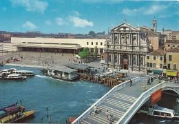 .CPM. VENEZIA - GARE DE St LUCIE -- CARTE NON ECRITE - Venezia (Venice)