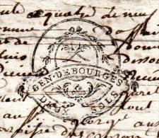 Généralité Bourges - N°191: 1 Sol 3 Den Et 192: Deux Sols -  Du 9mars 1764 - 3 Feuilles - Fiscaux