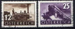 Österreich 1937 Mi 646-647, Gestempelt [280316XII] - 1918-1945 1st Republic