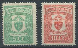 1195 - LICHTENSTEIG Fiskalmarken - Fiscaux
