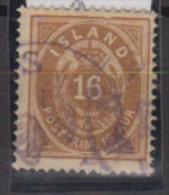 ISLANDE      1878           N.    9         ( Denteles       14 X 13 1/2 )     COTE    50 . 00    EUROS          ( 477 ) - Oblitérés